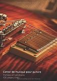 Cahier de musique pour Guitare: 100 Pages Format A4