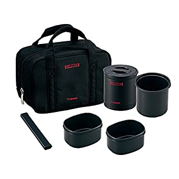 Zojirushi Heat Insulation Lunch Box 0.7 Go Black Sz-mb04-ba