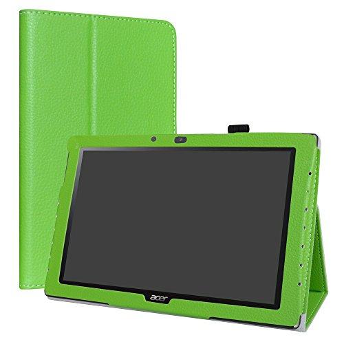 Acer Iconia One 10 B3-A40 hülle,LiuShan Folding PU Leder Tasche Hülle Hülle mit Ständer für 10.1