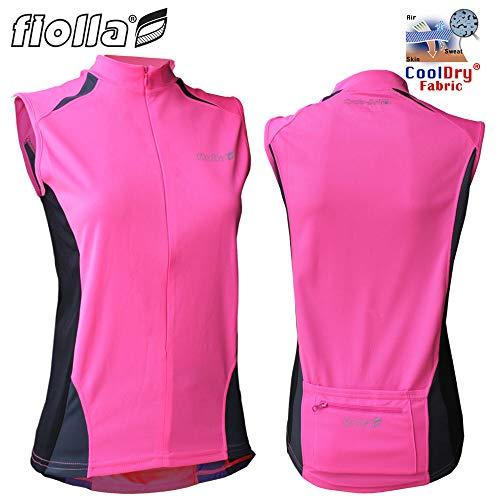 Fiolla Cyclo-Dri Sleeveless Womens Cycling Jersey (3XL - Size 14)