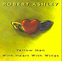 Yellow Man With Heart With Wings