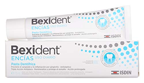 ISDIN Bexident - Pasta dentifrica con triclosan, 75 ml