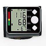 ZUEN Monitor de presión Arterial electrónico Medición automática de la presión Arterial Muñeca Digital Pulso Monitorización de Salud médica Tonómetro Herramienta de diagnóstico en el hogar