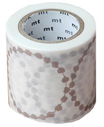 カモ井加工紙 マスキングテープ mt ミナペルホネン tambourine grande・silver 48mm×10m MTMINA31