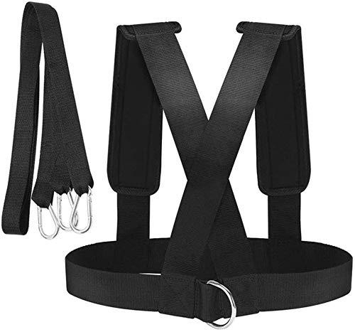 NNNMMM Weight Sled Harness Kits, Widerstandsseil-Kit für körperliches Training, Power Pulling Resistance Speed Agility Training für, zum Laufen Sprinting Football Speed Agility Training