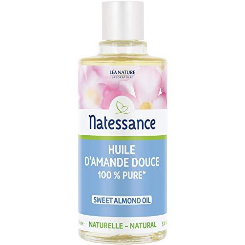 NATESSANCE Huile d'Amande Douce 100 ml