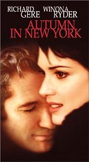 Autumn in New York [VHS]