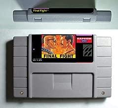 Game card - Game Cartridge 16 Bit SNES , Game Final Fight Series Games Final Fight 1 - Action Game Card US Version English Language