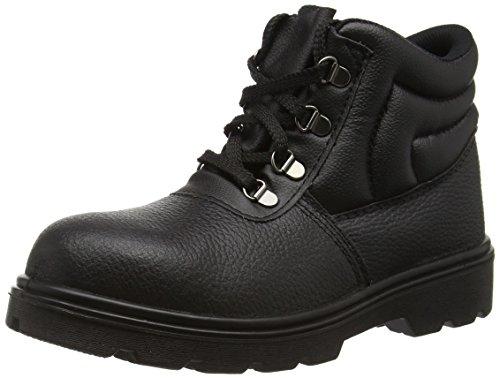 Toesavers Unisex Erwachsene Sicherheitsstiefel Sicherheitsstiefel 2415, Schwarz (Black), 43 UK 9