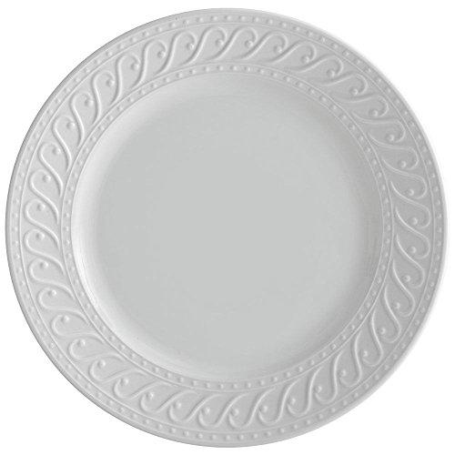 Pfaltzgraff Sylvia Round Serving Platter, White