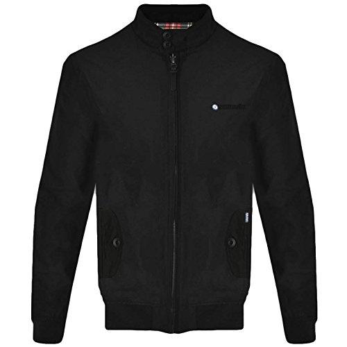 Lambretta Mens Target Harrington Jacket - Black - L