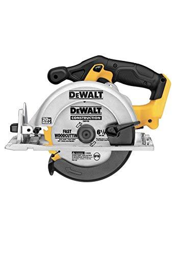 Dewalt DCS393 bare tool 20V MAX 6 1/2' circular saw in bulk packaging