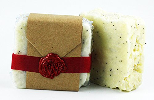 Lavender All Natural Exfoliating Soap Bar