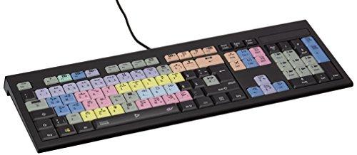 LogicKeyboard LKB-EDIUS-APBH-DE GrassValley Edius Astra deutsches (PC/Slim) Tastatur schwarz/bunt