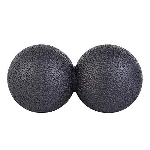 Massageball, Triggerpunktmassage - Myofasical Ball, Gymnastikball, Lacrosse Ball, Doppelkugel für Bodybuilding-Fitnessübungen