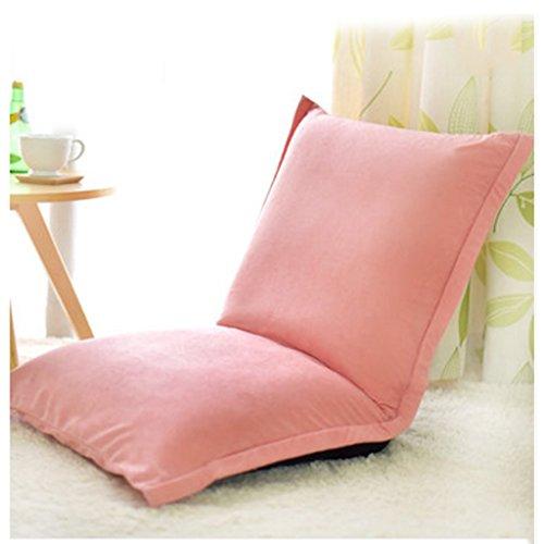 Oreiller Fu Man Li Trading Company Canapé Paresseux Plein de chaises de Loisirs Double Sandwich vitrine épaisse A+ (Couleur : Rose)
