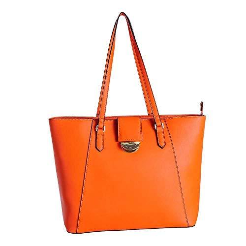Mario Valentino Falcor Shopper tas 34 cm, Arancio (oranje) - VBS3TP01-048