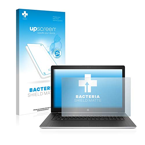 upscreen Bacteria Shield Matte Bildschirmschutz Schutzfolie für HP ProBook 470 G5 (antibakterieller Schutz, matt - entspiegelt)