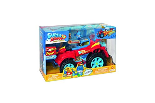 Superzings PSZSD112IN00 - Hero Monsterroller-Truck mit 2 exklusiven SuperZings-Helden