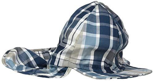 Döll Jungen Baseballmütze mit Nackenschutz Kappe, Blau (Adriatic Blue|Blue 3193), 55