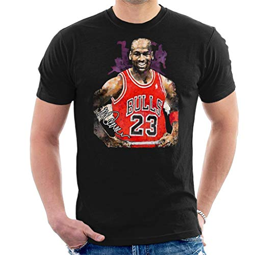 Sidney Maurer origineel portret van Michael Jordan Chicago Bulls Vest heren T-Shirt