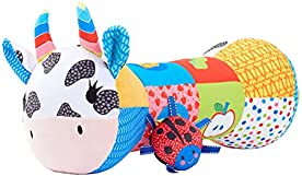 Early Learning Centre Blossom Farm Martha Moo Tummy Time Roller, Exclusive, by Just Play