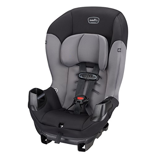 New Evenflo Sonus Convertible Car Seat, Charcoal Sky
