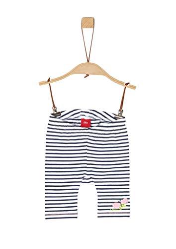 s.Oliver Junior Baby-Mädchen 405.10.004.18.183.2038004 Lässige Shorts, 57G9 Blue Stripes, 80