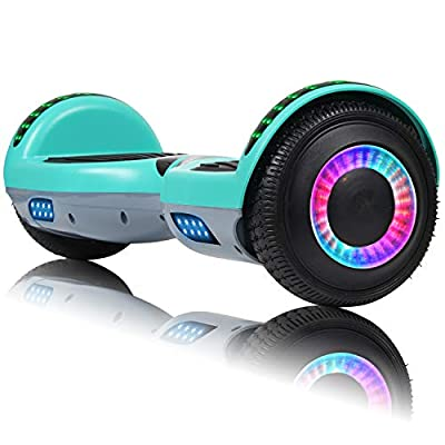 VEVELINE Hoverboard for Kids w/Bluetooth Speaker
