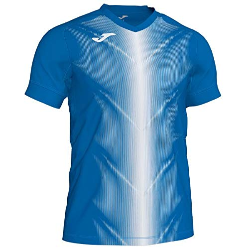 Joma Olimpia Camisetas, Hombre, Royal/Blanco, L