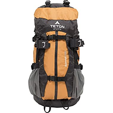 Teton Sports Summit 1500 Ultralight Backpack; Lightweight Daypack; Durable Hiking Backpack for Camping, Hunting, and Travel; Just the Right Size for a Quick Getaway; Don't Settle for the Basics