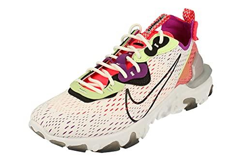 Nike Zapatillas de correr React Vision para hombre, color Blanco, talla 44 EU