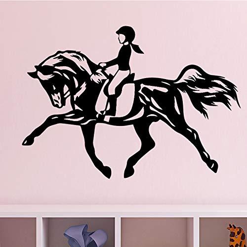 Tianpengyuanshuai behang van vinyl voor meisjes in paard, slaapkamer, wanddecoratie, zelfklevend
