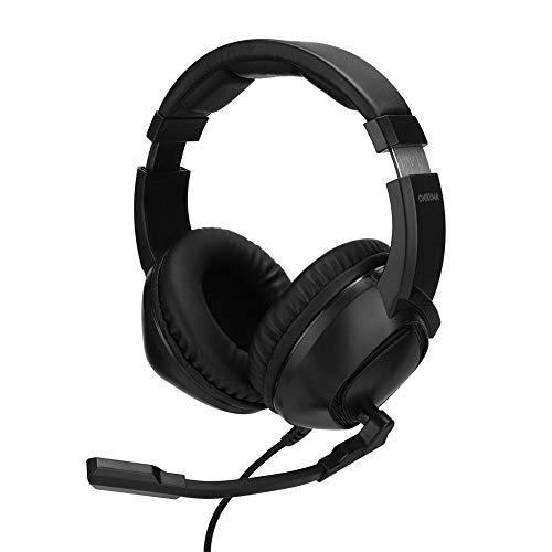 sjlerst Auriculares, Auriculares para Juegos cómodos, Accesorios para Auriculares para Xbox One Game Machine Black, con Diadema cómoda y Ajustable
