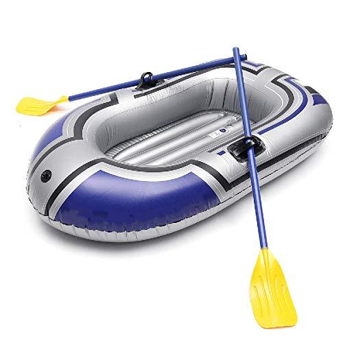 Barca Gonfiabile Una Persona Barca Da Pesca Gonfiabile Kayak Canoa Canoa A Canottaggio Aria Doppia Valvola Alla deriva Accessorio Immersione