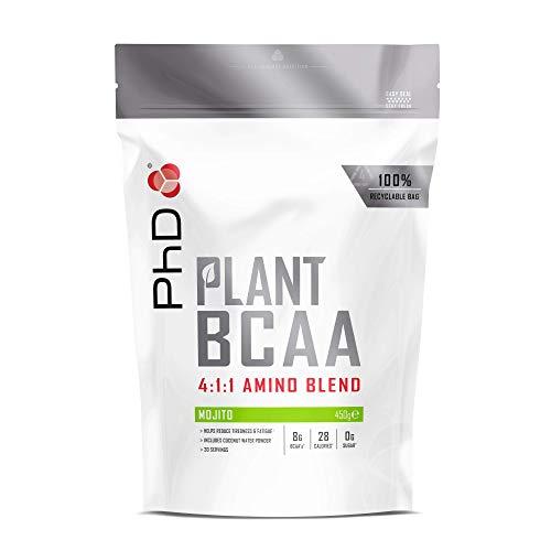PhD Nutrition Plant BCAA 4:1:1, Mojito, 450 g