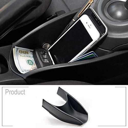 YIWANG ABS Kunststoff Armlehne Mittelkonsole Handbremse Aufbewahrungsbox für Benz Smart 453 Fortwo Forfour 2015-2019 Mittelkonsole Handschuhablage