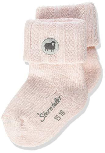 Sterntaler Baby-Mädchen söckchen Socken, Zartrosa, 15-16
