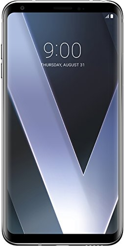 "Lg LG V30 Smartphone 15.2 cm (6""), (NanoSIM (4FF), 4G LTE, 4 GB, 64 GB, 16 MP, Android 7.1.2 Nougat), Argento (Cloudy Silver)"