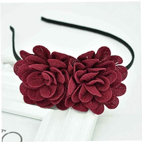 Case Cover Kinder Blumen-Stirnband Hohl Solid Color Zubehör Haargel Haarreif Mädchen Hood Haarschmuck