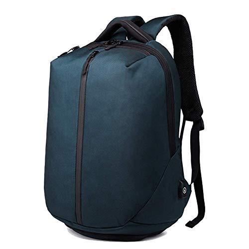 GBY laptop rucksack, Reise-Laptop-Rucksack 15.6-17.3 Zoll-großer Rucksack-Computer-wasserdichter Schulrucksack mit USB-Ladeanschluss und Schnittstelle des Kopfhörer-RFID Arbeit/Geschäft/Hochschule