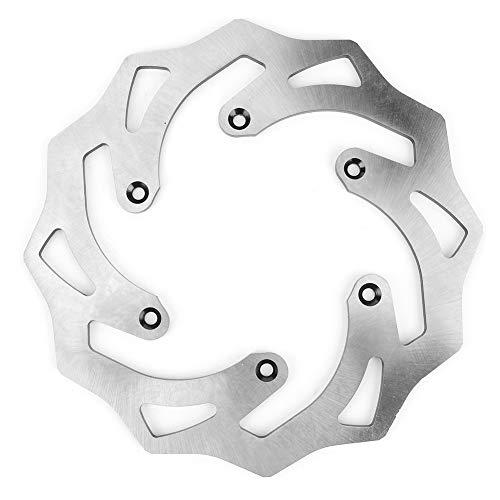 Duokon Rotor de disco de freno trasero de 0,2 pulgadas apto para Yamaha YZ125/250 WR125 WR250 YZF/WRF250/450