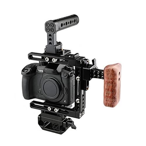 Cámara de jaula de la cámara Ajuste para Canon 5DS / 5DSR / 50D / 450D, 760D, 750D / FIT para Nikon D3200 / D3300 / D5200 / D5500 / D610, DF / Ajuste para Sony A7 / A7II / GH5 / GH4 / GH3 / GH2