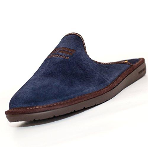 Nordikas, 236, Chinela paño azul marino de Hombre, talla 43