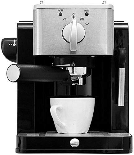 YQGOO Máquina de café, Bomba de Vapor Máquina de café Máquina de Espresso 850 Watts? 15 Bar - Depósito de Agua de 1,2 L Hogar, Oficina, Negocios, Fiesta