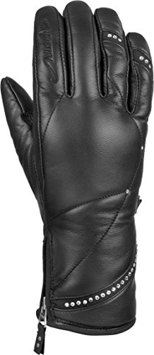Reusch Snowsports Women's Jasmine Ski Gloves, Black, Medium