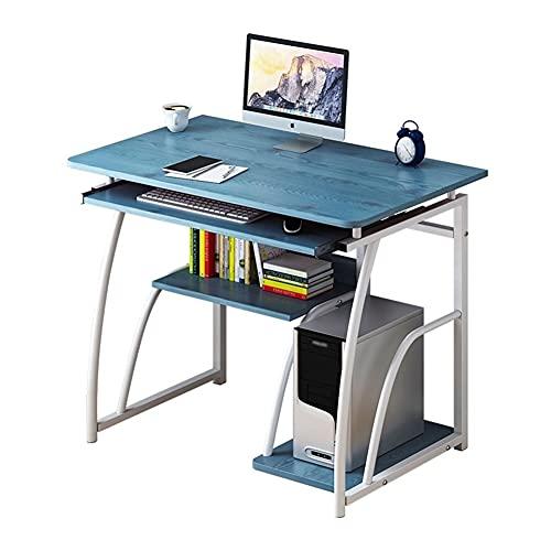 Mesa de escritorio de 70 cm para computadora de escritorio de estudio para oficina en casa, estilo simple y moderno, fácil de montar