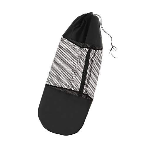 Sharplace Bolsos de Hombro del Portador de La Aptitud de Los Deportes del Bolso de La Estera de La Yoga con El Centro de La Malla - Tamaño 2-10mmx80cm
