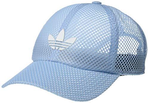 adidas Originals Women's Mesh Strapback Cap, Clear Sky Blue, ONE SIZE