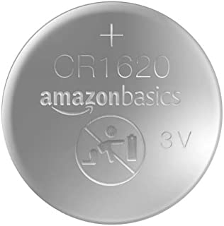 AmazonBasics CR1620 Lithium Coin Cell, 2-Pack